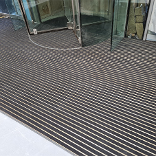 Refurbished office space benefits from new entrance matting