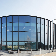 Sustainable Curtain Wall Drives Facade Design For New £70m Automotive R&I Hub