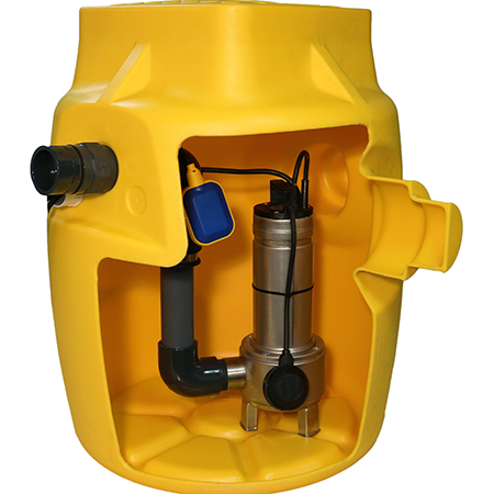 Basement Drainage & Sump Pumps