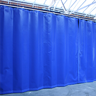 Demountable/ relocatable partitions: Flexicurtain®, Fastflex, Flexiglide