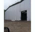 Temporary protective partitions: Flexiscreen®, Hoardfast
