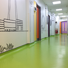 nora rubber flooring: norament sheets /tiles