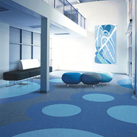 Flexible floor tiles/sheets: heavy-duty