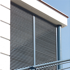 Cladding louvres