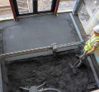 Sub-floor screeds & Underfloor Heating