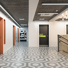 nora rubber flooring: sustainable floor covering