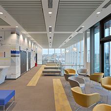 Suspended ceilings: Axiom Classic, Axiom Knife Edge, Optima, Optima L, Metal Baffles, Mineral Baffles, Curved Baffles