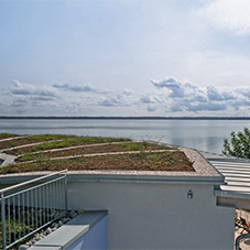 Rhenofol Pvc Membrane Is Proven For Green Roofing At