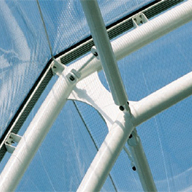 ETFE Glazed/patent glazed roofs