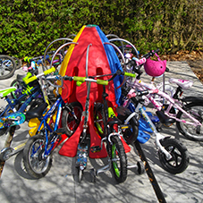 Scooterpods & Minipods: School Bike & Scooter Storage