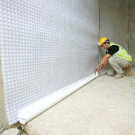 Cavity Drain Membrane for Basement Waterproofing: Newton 508