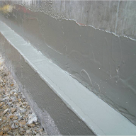 Concrete and construction joint waterproofing  Newton 106 FlexProof