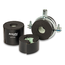 Armafix Ecolight: Eco-friendly pipe supports for a complete insulation system