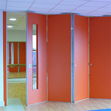 Kudos Sliding Folding Partitions