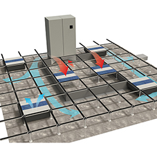 AET Flexible Space: Underfloor air conditioning
