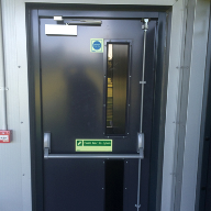 Steel Doors: Security & fire doors