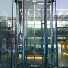 Tall Revolving Doors