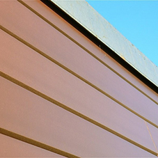 Kedel V-Cladding: Recycled Plastic Cladding