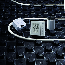 Underfloor heating & smart heating controls