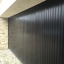 Side Sliding Rundum Original Garage Doors
