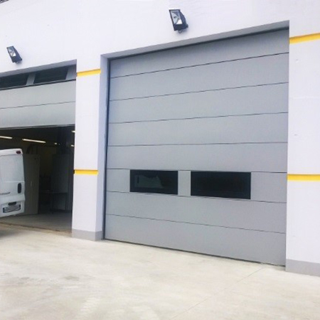 RS-HA ACOUSTIC DOORS, sound-insulating overhead doors
