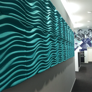 Wave 3D Acoustic Wall Panels