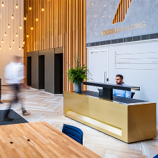 Modular Reception Desks and Seating