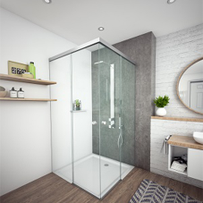 MasterTrack® ST: High-tech sliding door system for showers