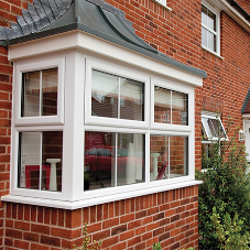 Composite Windows Louvred