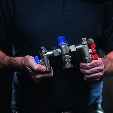 Specialised water control valves