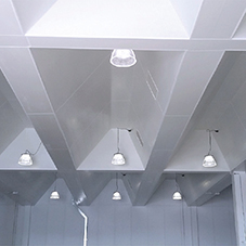 PVC wall and ceiling cladding