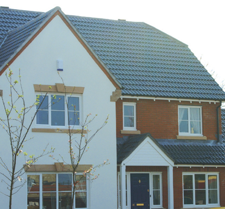 Low-maintenance alternative to timber fascias, soffits and claddings