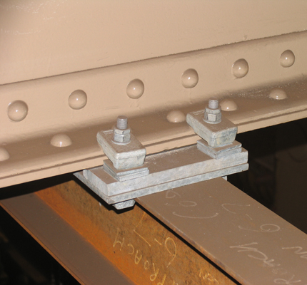 Lindapter's Girder Clamp fixing