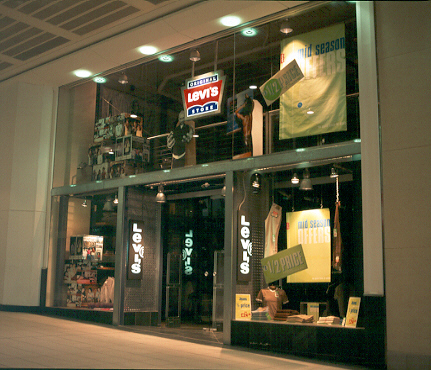 Levi's shopfront, The Buchanan Galleries
