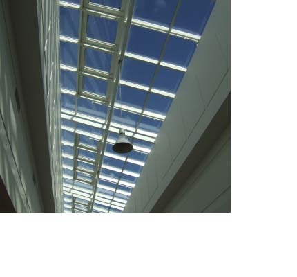 Lightspan roof glazing at Antonine Shopping Centre, Cumbernauld