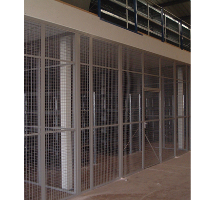 Anchorwall Steel mesh partitioning