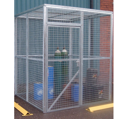 Anchorwall Steel mesh security cage
