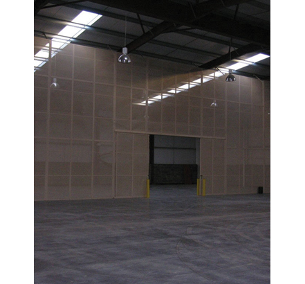 Anchorwall Steel perforated partitioning