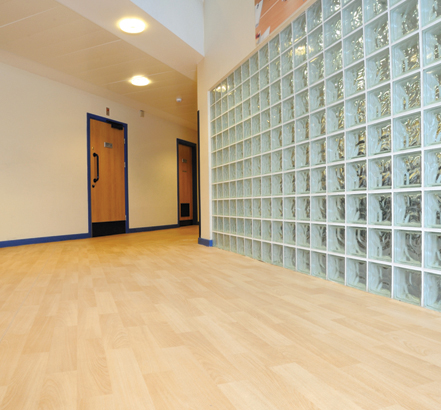 Polysafe Wood FX Acoustic, Lambeth Academy