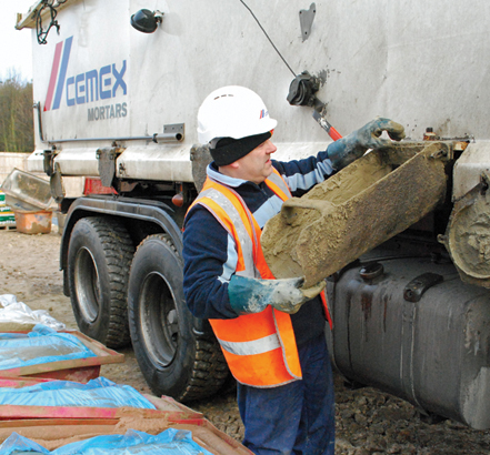 CEMEX mortars are suitable for almost all masonry applications