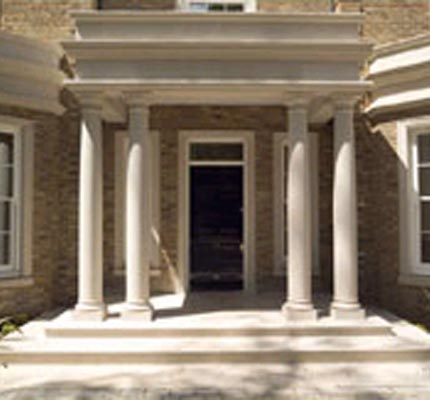 French doorsets giving traditional distinction