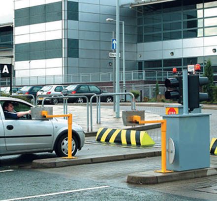 Heald's high-security Roadblocker securing a high-profile site