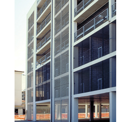 Talia®40 louvres providing natural daylight and ventilation