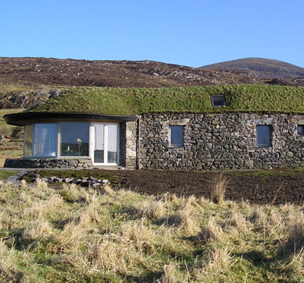 Blacksheep House with NorDan low U-value windows, giving high levels of energy efficiency without compromising the look