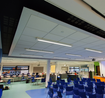 Armstrong Ultima OP suspended ceiling tiles