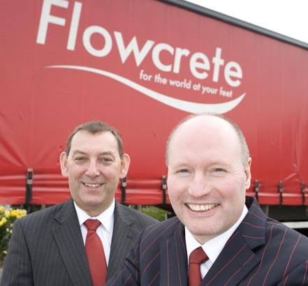 Flowcrete happy with Queen's Award for its flooring