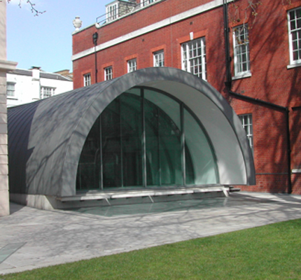 Royal academy of music marylebone road london for Barrel vault roof