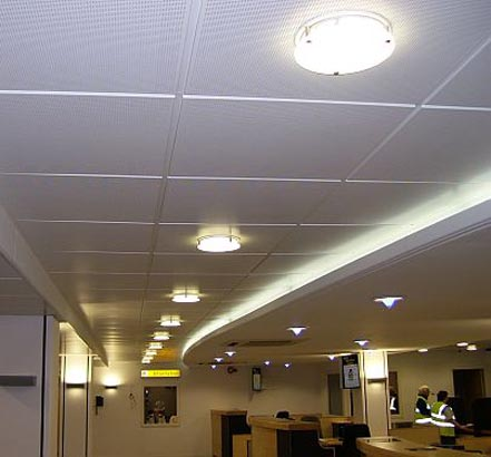 Burgess Metalflair was used in the refurbishment