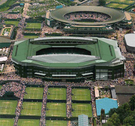 Kingspan Insulated Panels provided a fixed roof for Wimbledon centre court