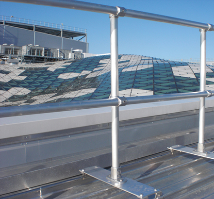 Special lightweight collective protection solution provided to standing seam roof
